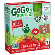 GoGo Squeez Apple Strawberry Applesauce On the Go