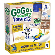 GoGo Squeez Banana Yogurtz On The Go