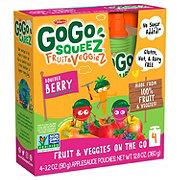 GoGo Squeez Fruit & Veggiez Boulder Berry Fruit & Veggiez