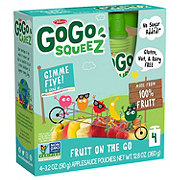 GoGo Squeez Gimme 5 Applesauce On The Go