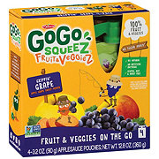 GoGo Squeez Great'ful Grape Fruit & Veggiez