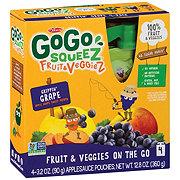 GoGo Squeez Great'ful Grape Fruit & Veggiez