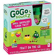 GoGo Squeez Sour Apple Raspberry Lemon Twist