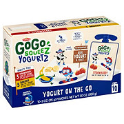 GoGo Squeez Yogurtz Strawberry Banana Variety Pack