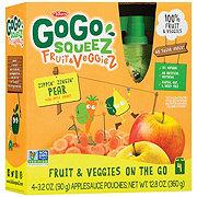 GoGo Squeez Zippin' Zingin' Pear Fruit & Veggiez