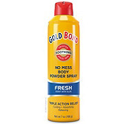 Gold Bond Medicated No Mess Fresh Powder Spray