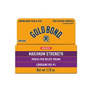 Gold Bond Pain & Itch Relief Cream With Lidocaine