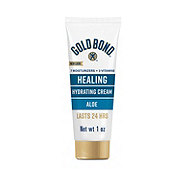 Gold Bond Ultimate Healing Skin Therapy Cream Lotion With Aloe Travel Size