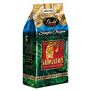 Gold Coffee Single Origin Sumatra Whole Bean Coffee