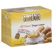 Gold Kili All Natural Ginger Lemon Tea