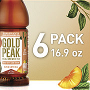 Gold Peak Peach Tea 16.9 oz Bottles