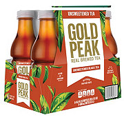 Gold Peak Unsweetened Iced Tea 16.9 oz Bottles