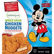 Golden Platter Mickey 90th Anniversary Chicken Nuggets