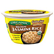 Golden Star Organic Brown Jasmine Rice Bowl