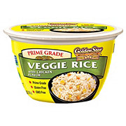 Golden Star Veggie Rice with Chicken Flavor Bowl