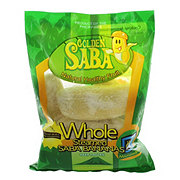 Golden Whole Steamed Saba Banana