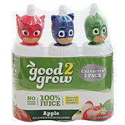 Good 2 Grow 100% Apple Juice 6 oz Bottles Assorted Characters