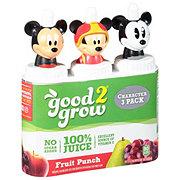 Good 2 Grow 100% Juice Fruit Punch 6 oz Bottles