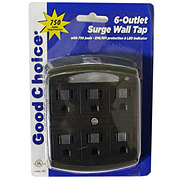 Good Choice brand Wall Tap 6 -Outlet Surge