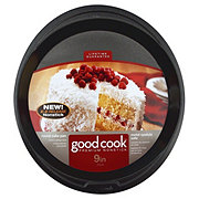 "Good Cook 9"" Non-Stick Round Cake Pan"