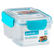 Good Cook Good Cook Tall Split Snack Container