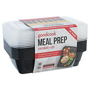 Good Cook Meal Prep 1 Compartment Rectangle