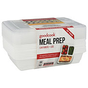 Good Cook Meal Prep 3 Compartment Food Storage