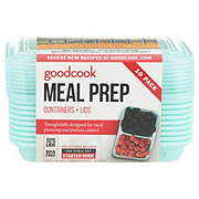 Good Cook Meal Prep Food Storage One Compartment Small