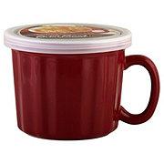Good Cook Oven Fresh 16 OZ Mug With Lid Stoneware