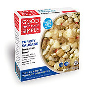 Good Food Made Simple Made Simple Bacon & Turkey Sausage Breakfast Bowl