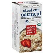 Good Food Made Simple Original Unsweetened Oatmeal