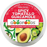 Good Foods Spicy Tomatillo Guacamole - Shop Dips at HEB