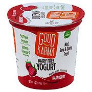 Good Karma Dairy Free Raspberry Yogurt