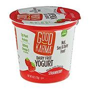 Good Karma Strawberry Dairy Free Yogurt