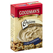 Goodman's Low Sodium Onion Soup And Instant Onion Dip Mix