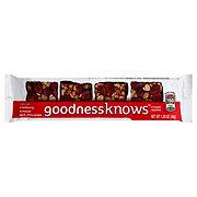 goodnessknows Cranberry Almond Dark Chocolate