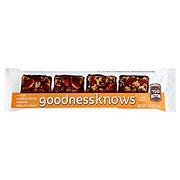 goodnessknows Peach & Cherry Almond Dark Chocolate