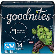 GoodNites Bedtime Bedwetting Underwear for Boys, 14 ct