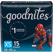 GoodNites Bedtime Bedwetting Underwear for Boys, 15 ct