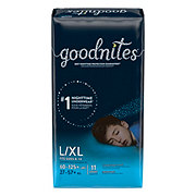 GoodNites Bedtime Bedwetting Underwear for Boys, L-XL