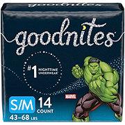 GoodNites Bedtime Bedwetting Underwear for Boys, S-M