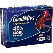 GoodNites Boys Night Time Underwear 33 pk