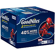 GoodNites NiteTime Underware Boys 32 pk