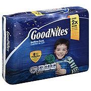 GoodNites Youth Pants Big Pack Boys, 33 ct