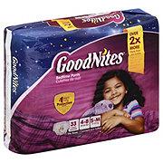 GoodNites Youth Pants Big Pack Girls, 33 ct