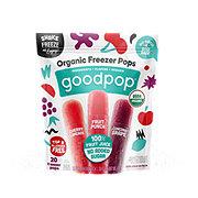 GoodPop 100% Fruit Juice Organic Freezer Pops