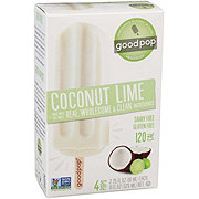 GoodPop Coconut Lime Pops