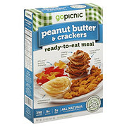 GoPicnic Peanut Butter and Crackers Ready-to-eat Meal