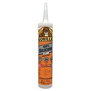 Gorilla 100% Silicone Clear Sealant