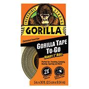 Gorilla Handy Roll Tape 1 Inch x 30 Feet